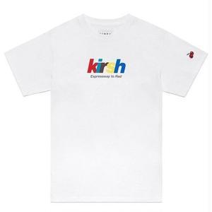 KIRSH RAINBOW LOGO T-SHIRT WHITE