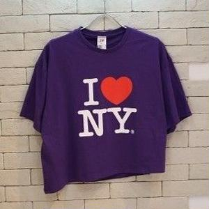 l♥︎NY ORIGINAL REMAKE TEE PURPLE