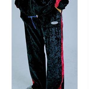 FEVERTIME VELVET PANTS BLACK