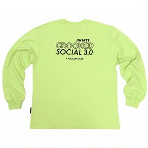 A PIECE OF CAKE ACS3.0 LONGSLEEVED TEE LIME