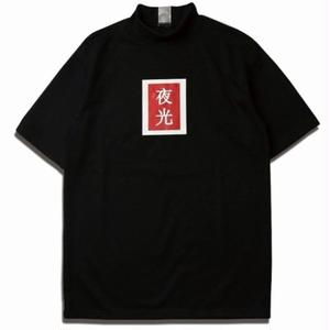 MIX  REFLECTIVE POLA TEE BLACK