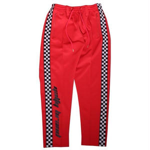 GALFY SIDELINE CHECKER TRUCK PANTS RED