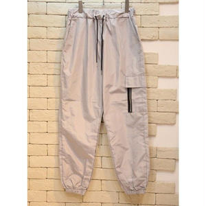 NYLON CARGO PANTS GREY