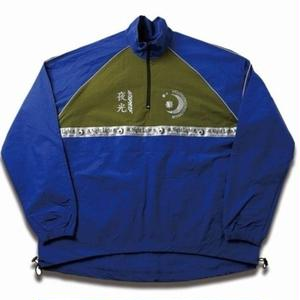 MIX REFLECTIVE WARM-UP JACKET BLUE