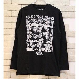 STREET FIGHTER SELECT SCREEN L/S TEE