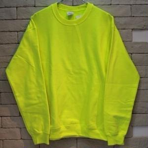 GILDAN CREW NECK SWEAT SHIRT SAF GRN