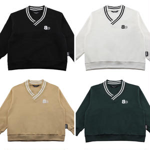 BASIC COTTON BC V-NECK SWEAT