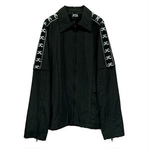 M-P-Q  KAI TRACK SUIT JUMPER BLACK