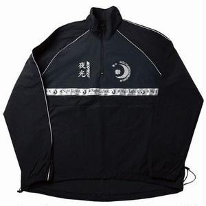 MIX REFLECTIVE WARM-UP JACKET BLACK