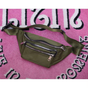 NYLON BODY BAG KHAKI