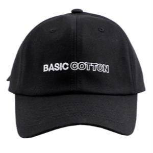 BASIC COTTON BASIC CAP BLACK