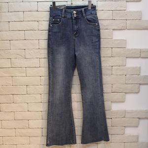 FLARE BLUE DENIM PANTS