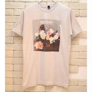 NEW ORDER POWER, CORRUPTION & LIES TEE SILVER