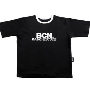 BASIC COTTON BCN TEE BLACK