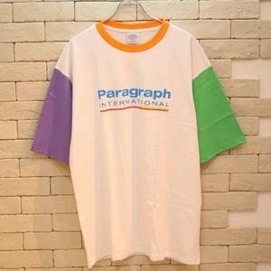 S/S PARAGRAPH RINGER TEE ORANGE