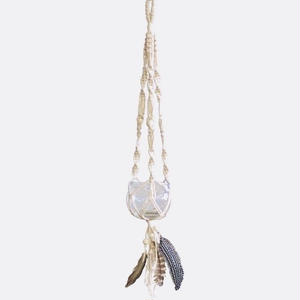 Dream Catcher Hanging Glass Bowl