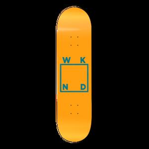 WKND【 ウィークエンド】Orange Cream Logo Deck デッキ 板 8インチ