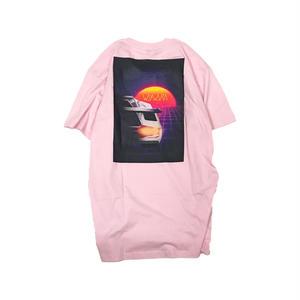 Wayward Wheels【ウェイワードウィールス 】LOST LANE TEE PINK Tシャツ ピンク