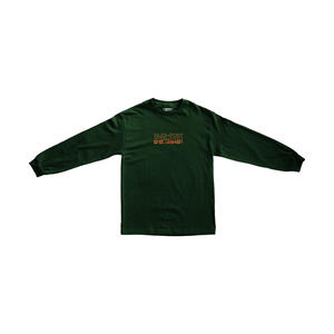 "PASS~PORT【 パスポート】""INTERNATIONAL EMBROIDERY"" L/S TEE FOREST GREEN ロンT フォレスト グリーン"
