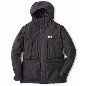 FTC【 エフティーシー】WATERPROOF 3L MOUNTAIN JACKET BLACK マウンテンジャケット ブラック