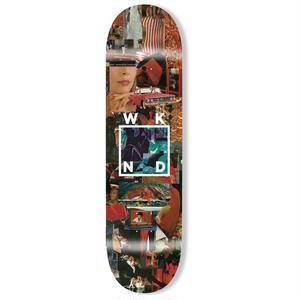 WKND【 ウィークエンド】COLLAGE LOGO  デッキ 板 8インチ