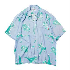 EVISEN【 えびせん】KERI ALOHA SHIRTS BLUE アロハ シャツ ブルー