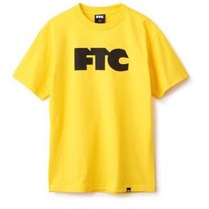 FTC【 エフティーシー】OG Logo  Tシャツ イエロー