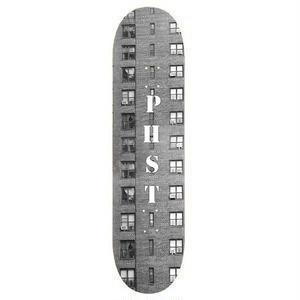 "Public Housing Skate Team【パブリックハウジングスケートチーム 】PHST ""WINDOW DECK"" DECK デッキ 板 8.5インチ"