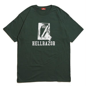 HELLRAZOR【 ヘルレイザー】 WAITING FOR A CALL SHIRT - FREST GREEN  Tシャツ フォレストグリーン