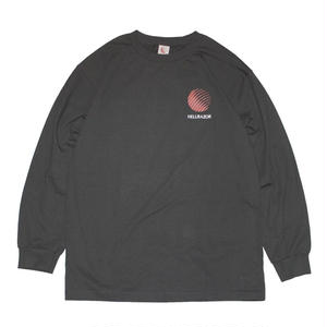 HELLRAZOR【 ヘルレイザー】 OPENING LOGO LONG SLEEVE SHIRTS ロンT ブラック