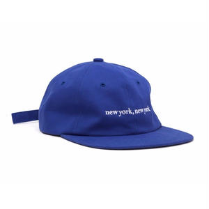 HOTELBLUE【 ホテルブルー】NEW YORK, NEW YORK CAP ROYAL キャップ 帽子  ロイヤル