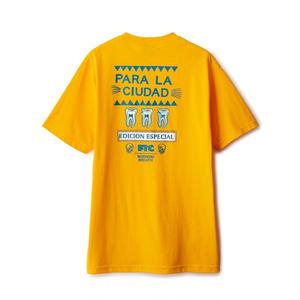 FTC【 エフティーシー】PARA LA CIUDAO TEE Tシャツ イエロー