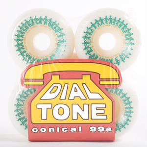 DIAL TONE【 ダイヤルトーン】Dial Tone Wheel Co Ben Gore Divine Dance Conical Wheels 53mm ウィール