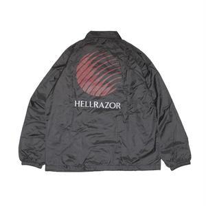 HELLRAZOR【 ヘルレイザー】OPENING LOGO COACH JACKET コーチジャケット ブラック