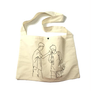 PICK UP!!! LUCKY WOOD smelly SHOULDER BAG NATURAL ショルダーバッグ ナチュラル