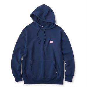 FTC【 エフティーシー】Small Logo Pullover Hoody パーカー プルオーバー ネイビー