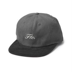 FTC【 エフティーシー】SCRIPT LOGO 6 PANEL  キャップ 帽子  ブラック