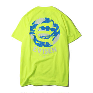 EVISEN【 えびせん】DOKU TSUBAKI TEE SAFETY GTREEN Tシャツ セーフティグリーン