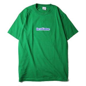 LUCKYWOOD【 ラッキーウッド】teatime TEE GREEN Tシャツ グリーン