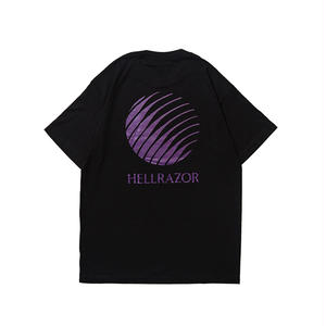 再再入荷!!! HELLRAZOR【 ヘルレイザー】Logo Shirt Heather Black  Tシャツ ブラック