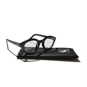 HELLRAZOR【 ヘルレイザー】Monk Sunglasses - Black/Clear サングラス クリアー
