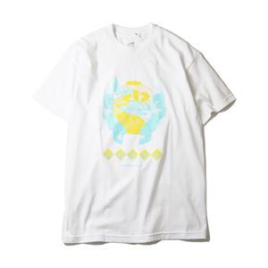EVISEN【 えびせん】SUSHI FACE TIME WHITE  Tシャツ ホワイト