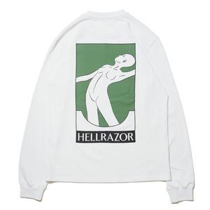 HELLRAZOR【 ヘルレイザー】x Futur Disposal 01 L/S shirt  ホワイト
