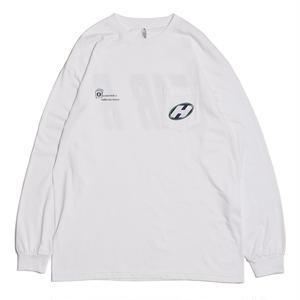 HELLRAZOR【 ヘルレイザー】x Dogear Pocket L/S shirt ポケット ロンT ホワイト
