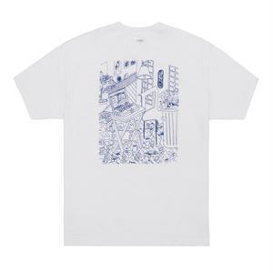 Classic Grip【 クラシックグリップ】Loft Tee  Tシャツ ホワイト