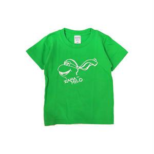 LUCKYWOOD【 ラッキーウッド】ZAMA-MILO KIDS TEE キッズ Tシャツ ライム