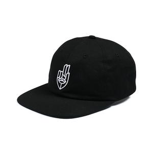 Jet Lag Brothers【ジェットラグブラザーズ 】Two Finger Salute Hat Black キャップ 帽子 ブラック