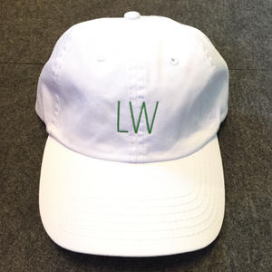 LUCKYWOOD【 ラッキーウッド】LW LOGO CAP WHITE