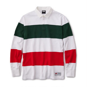 FTC【 エフティーシー】Stripe Rugby Shirts  ラグビー シャツ