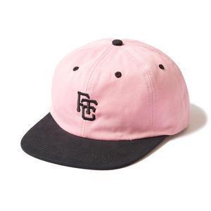 FTC【 エフティーシー】CFIELD LOGO 6 PANEL  キャップ 帽子  ピンク
